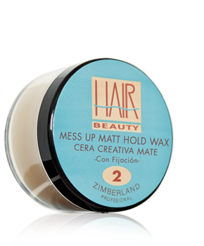 MESS UP MATT HOLD WAX - Cera Creativa Mate - Con Fijacion