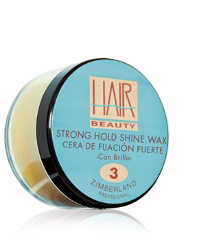 STRONG HOLD SHINE WAX -  Cera de Fijación Fuerte - Con Brillo